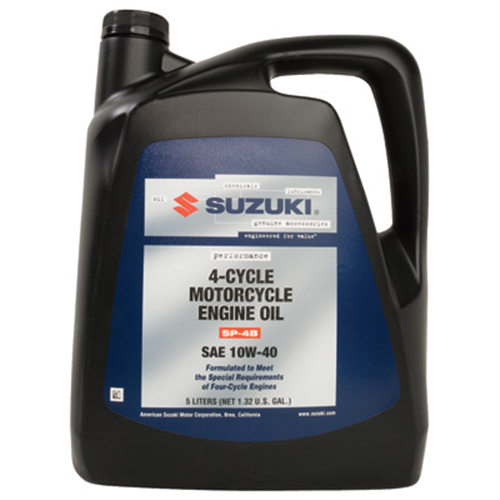 suzuki performance 4 cycle motorcycle engine oil 10w 40 5. Black Bedroom Furniture Sets. Home Design Ideas